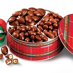 Gourmet Chocolate Nut Holiday Tin